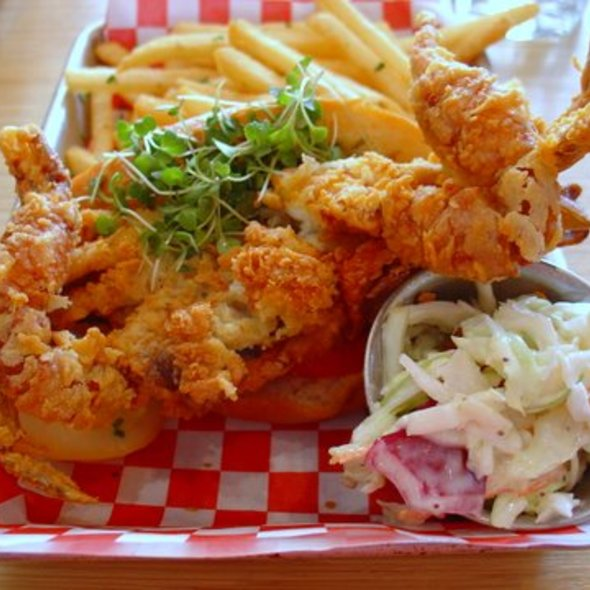 Soft-shell Crab Roll @ Woodhouse Fish Co.