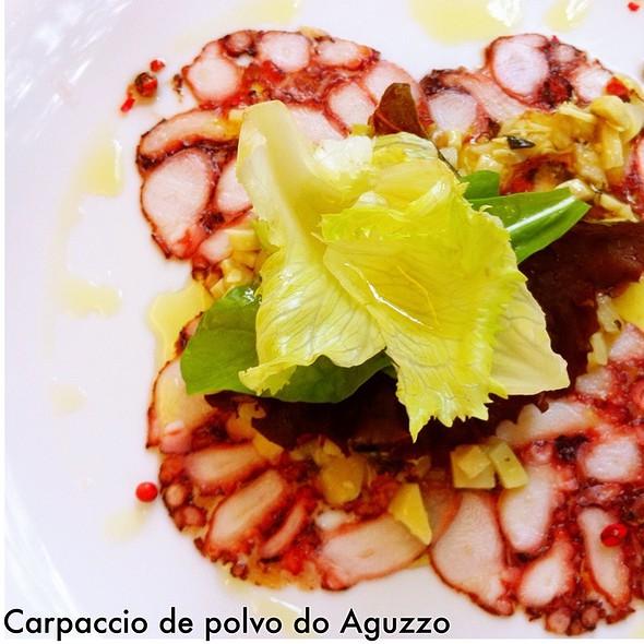 Carpaccio de Polvo - Octopus @ Aguzzo Caffe E Restaurante Ltda