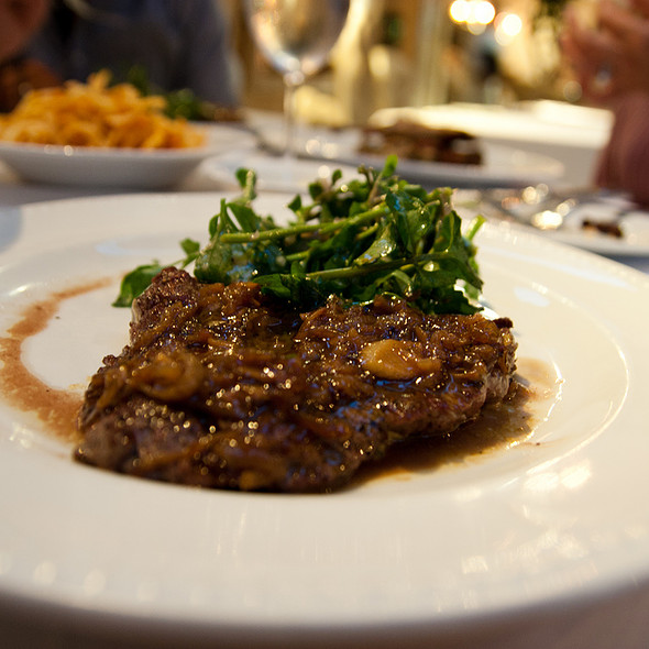 Mustard Steak Frites @ Provence Délices
