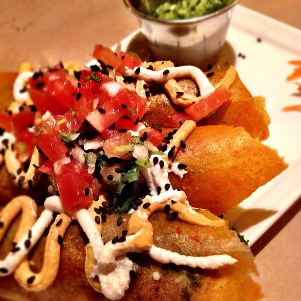 Raw Coconut Kale Enchiladas @ Bliss Raw Cafe