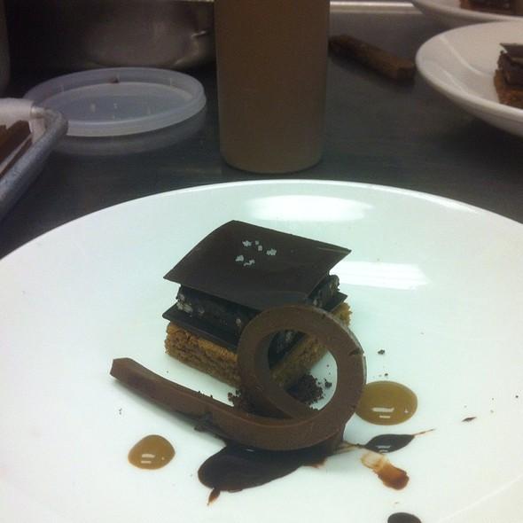 Chocolate Cake - Bacco Ristorante - Michigan, Southfield, MI
