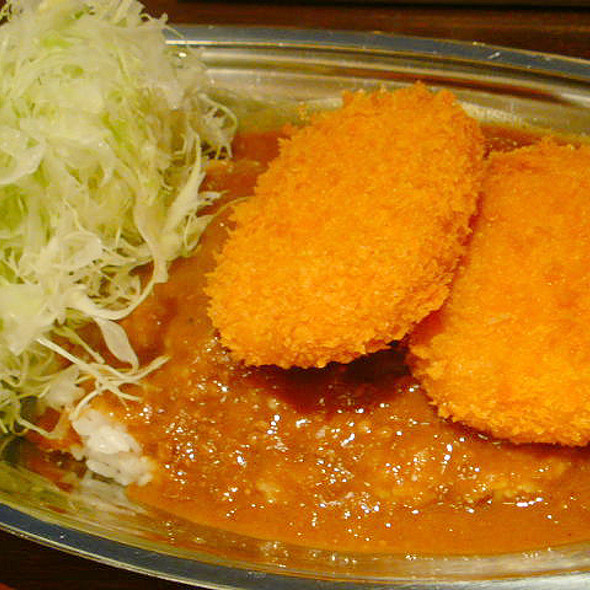 CURRY de PAUL w/Croquette / ポールのカレー コロッケのせ @ カレーとワイン ポール