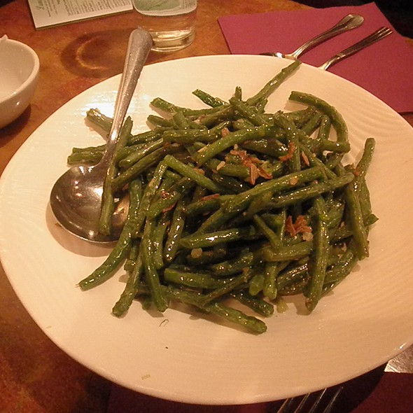 Dried Sauteed String Beans @ Sun Penang