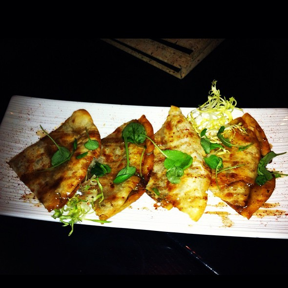 Pulled Duck Confit Crepes @ Samsara Cafe And Meal