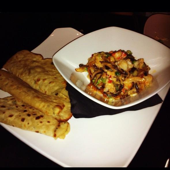 Lobster Stir-Fry @ Samsara Cafe And Meal