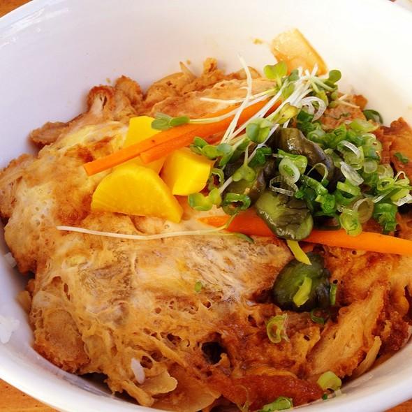 Chicken Katsu @ Kushi Bar