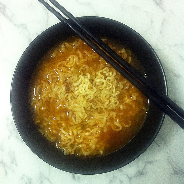 Kimchi Noodles @ Grocery SF