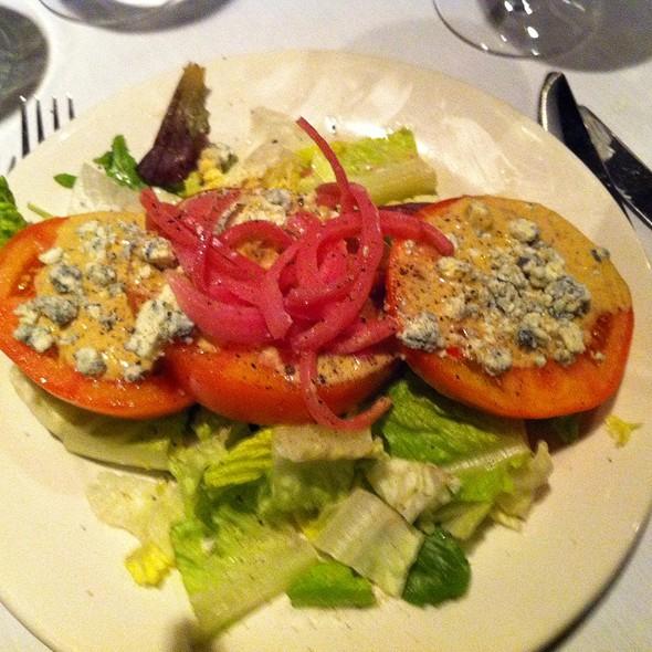 Tomato and onion salad - Myron's at Alon Town Center, San Antonio, TX