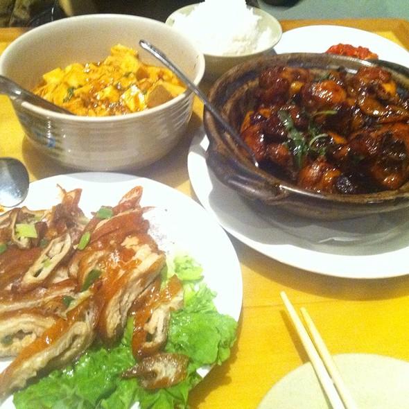 Basil Chicken @ Genroku Japanese Restaurant