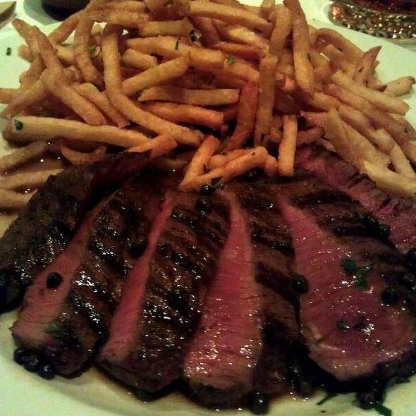 Steak Au Poivre @ Rustique Bistro