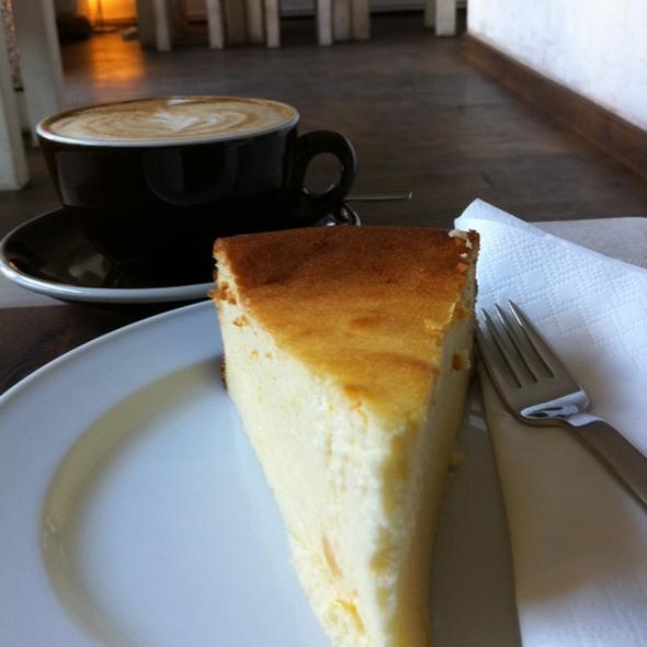 Cheesecake @ NO FIRE NO GLORY · Espresso Bar
