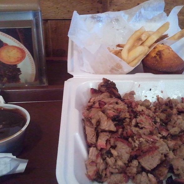 Beef Brisket @ Tom Jenkins B-B-Q