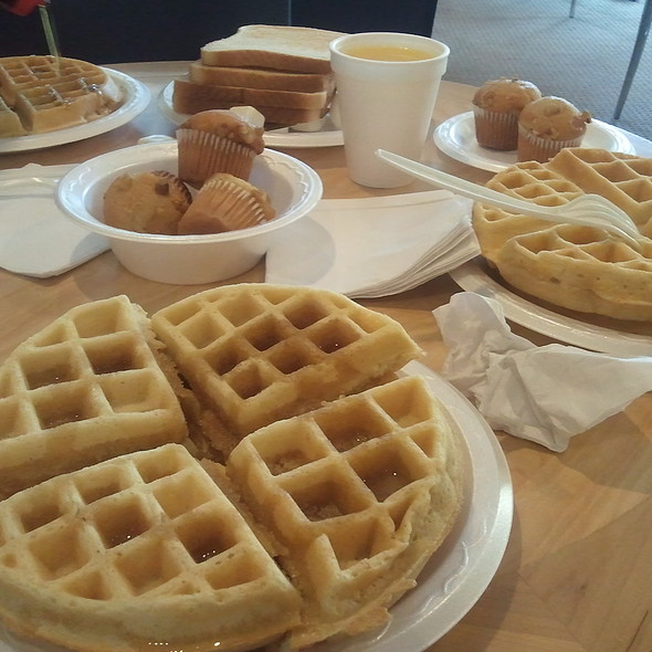 Waffles @ Quality Inn