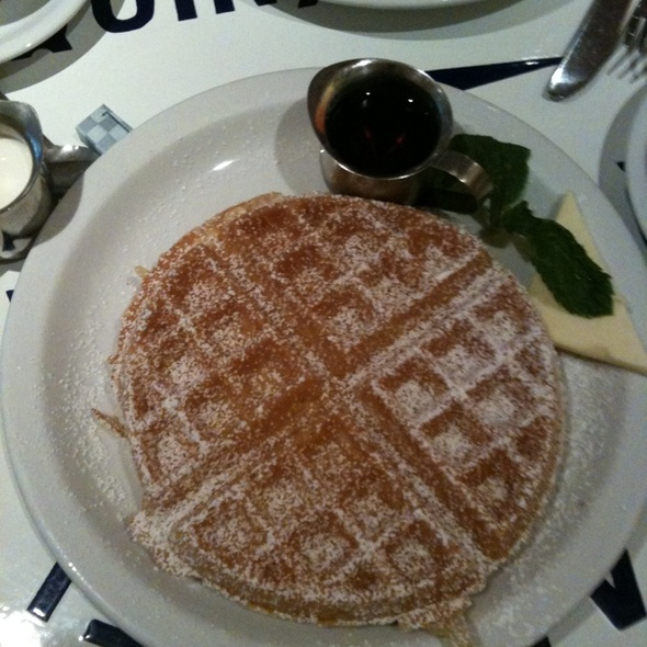 Belgium Waffle @ The Butler And The Chef