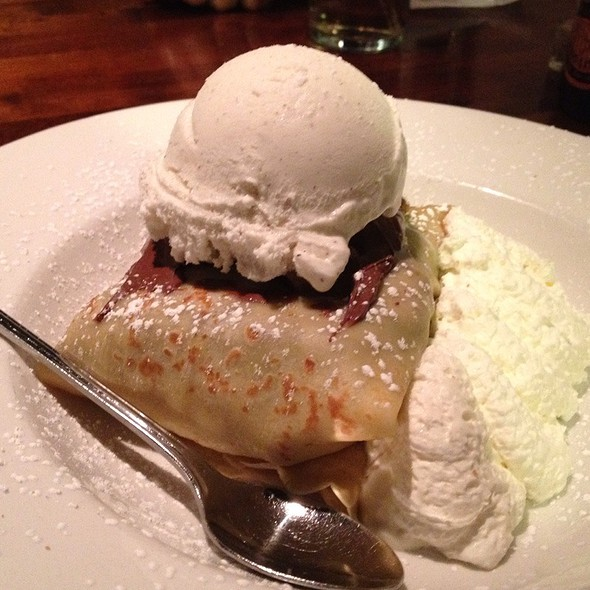 Brownie In A Blanket @ Crepe Cellar Kitchen and Pub