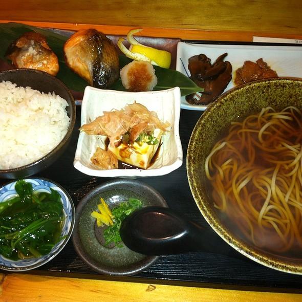 Grilled Fish Plate @ Sakagura