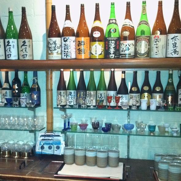 Assorted Sake @ Sakagura