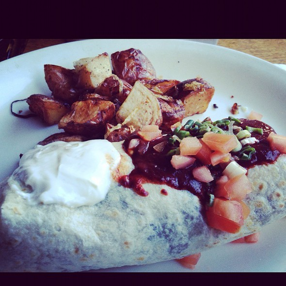 Breakfast Burrito @ Wishbone Restaurant