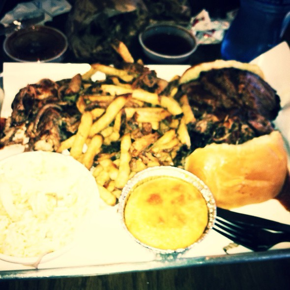 1/2 And 1/2 And Sides @ Smoque BBQ