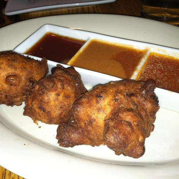 Blackeyed Pea Fritters @ Sauced