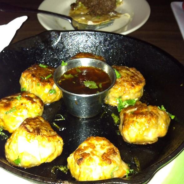 Pan Fried Dumplings With Pork Anf Shrimp
