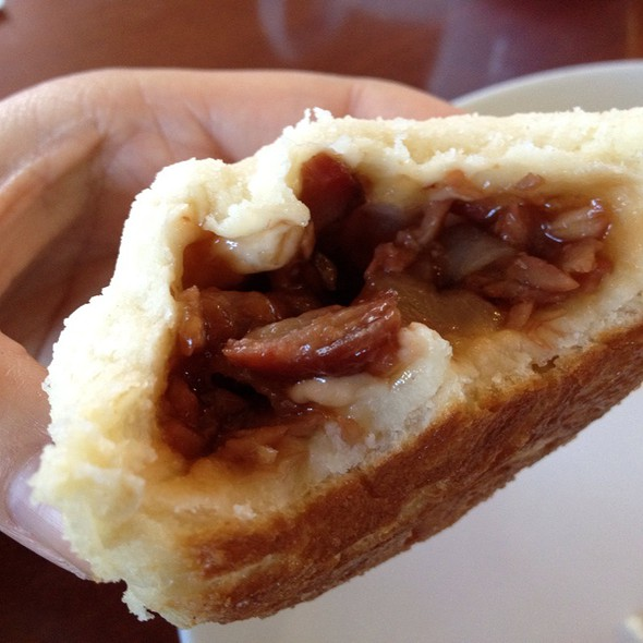 Baked Bbq Pork Buns Filling @ BK's Bistro