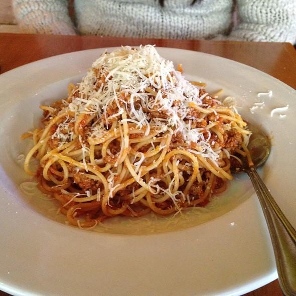 Spaghetti Bolognese @ Pasta Q Trattoria Italiana