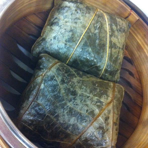 Mochi Rice Wrapped In Lotus Leaf @ Mei Sum Chinese Dim Sum Restaurant