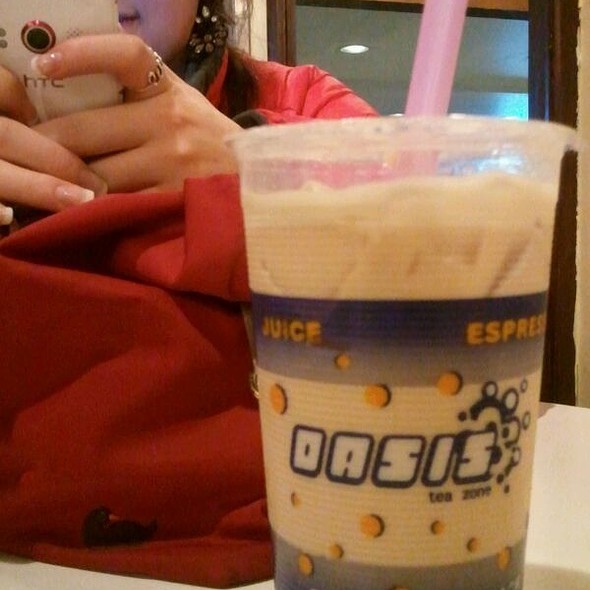 Coconut Milk Tea @ Oasis Tea Zone