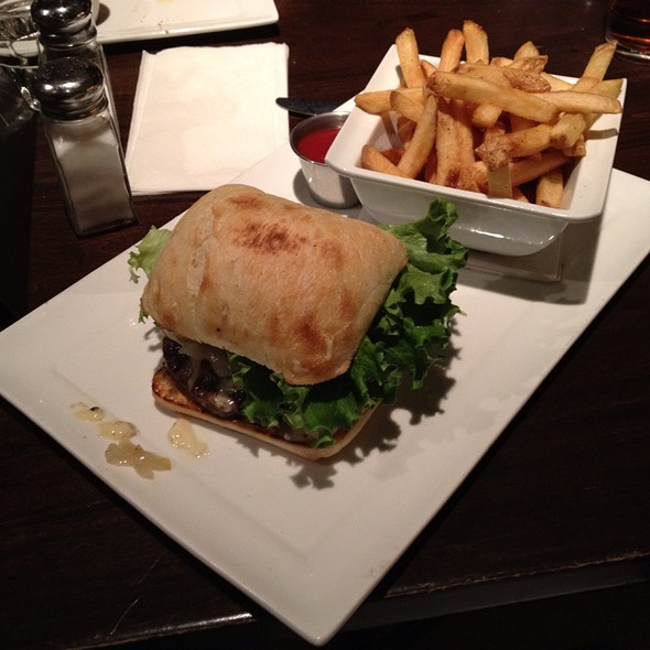 Lamb Burger - Wilde Rover Irish Pub & Restaurant, Kirkland, WA