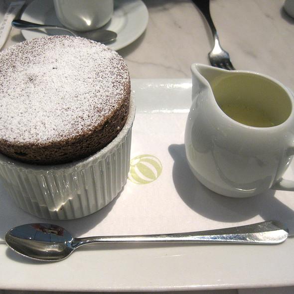 Chocolate Souffle @ Bouchon Bakery