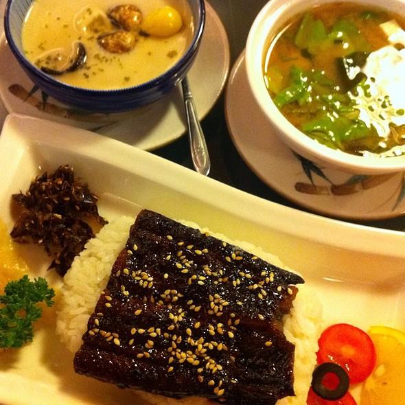 Grilled Eel With Rice @ 椿山日本料理