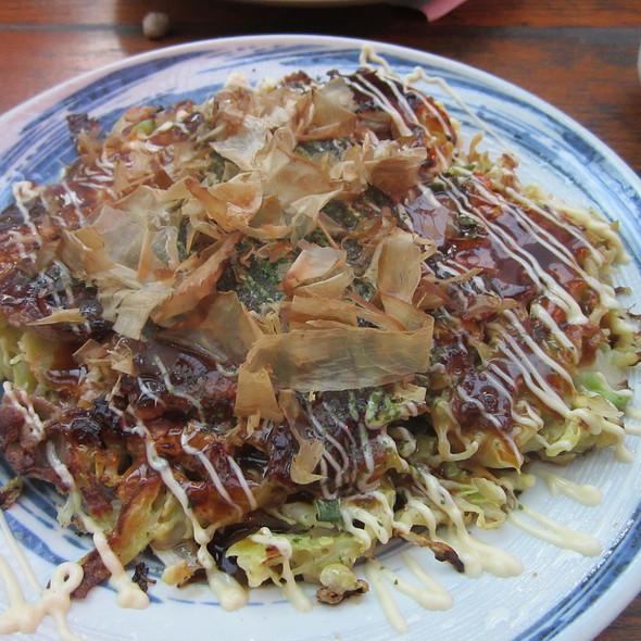 Kimchi Okonomiyaki @ Onka