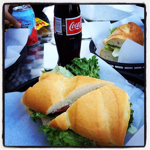Viareggio Sandwich @ zia's delicatessen
