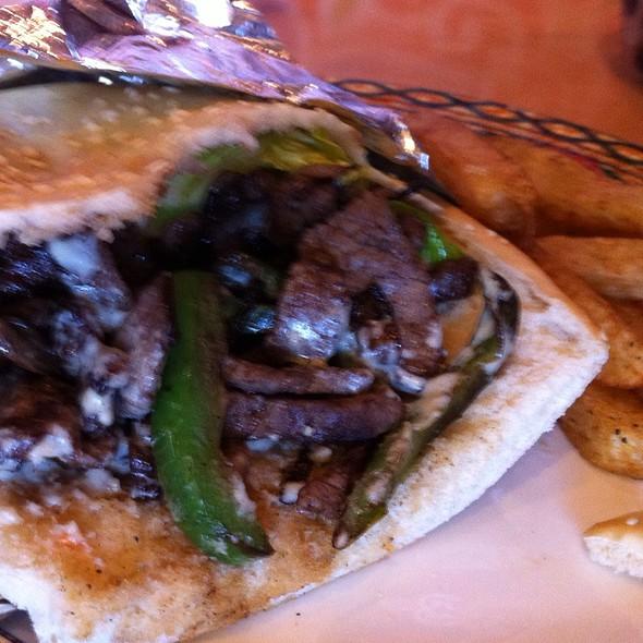 Lamb Shawarma Sandwich - Cleopatra Restaurant, High Point, NC