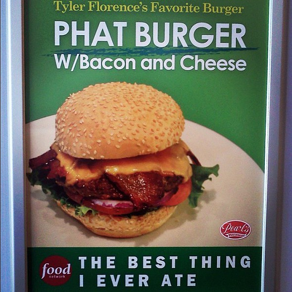 well it's no #valsburgers it was damn good! @ Pearl's Phatburgers