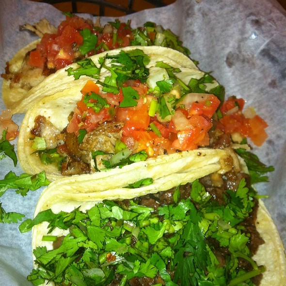 Pork Cheek And Cabeza Tacos