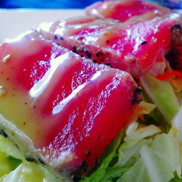 Pepper Seared Ahi Tuna - Caffe Siena, Charlotte, NC