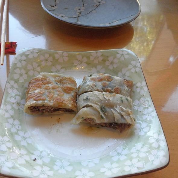 Scallion Pancake @ Rose Tea Cafe