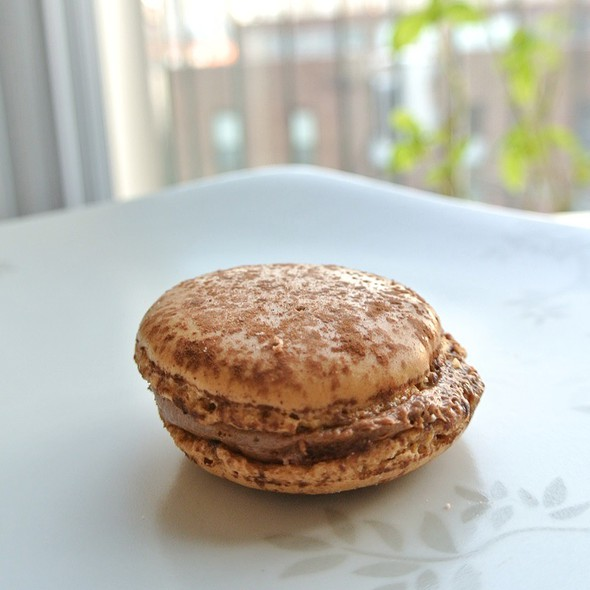 Coffee and Chocolate Macaron