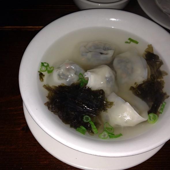 Spicy Wonton Soup @ M- Shanghai Bistro