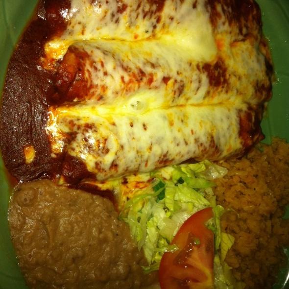 Chicken Enchilada - El Charro - Livermore, Livermore, CA