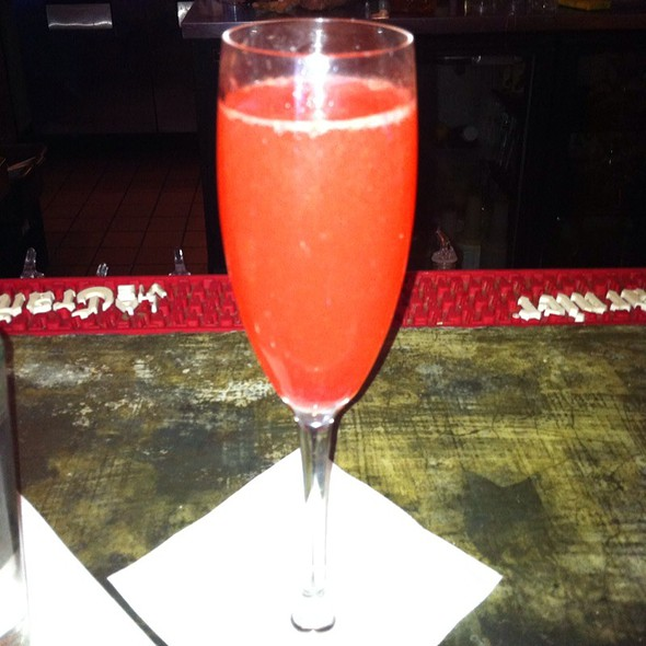 Blood Orange Mimosa - milk & honey, Santa Barbara, CA