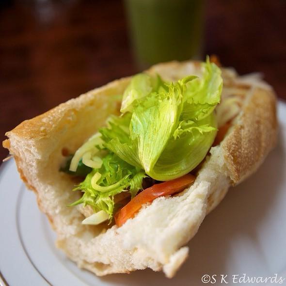 Laos-Style Baguette  @ Ma Nivanh Shop