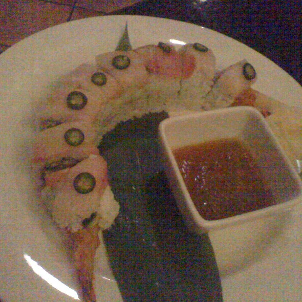 White Dragon Roll @ Tajima Japanese Restaurant