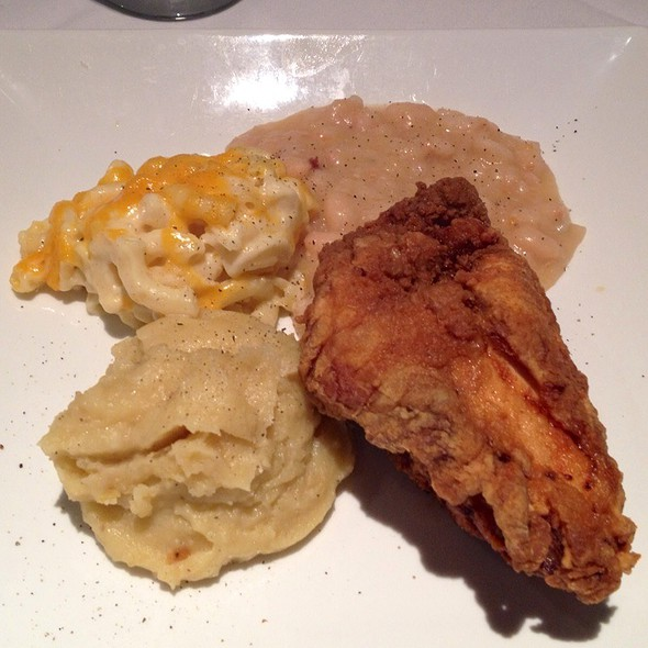 Fried Chicken Plate - Daniel George Restaurant and Bar, Mountain Brook, AL