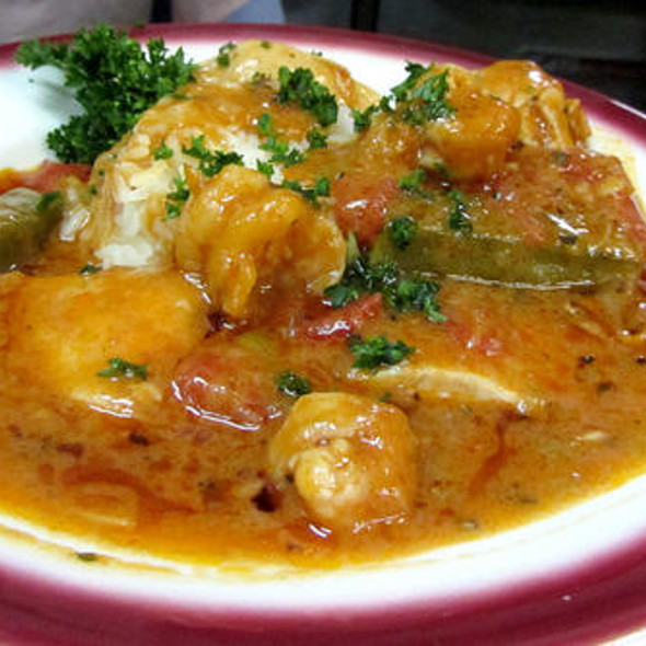 Creole Chicken @ Dooky Chase Restaurant