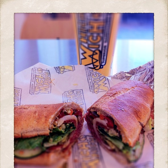 The Grinder @ Which Wich?