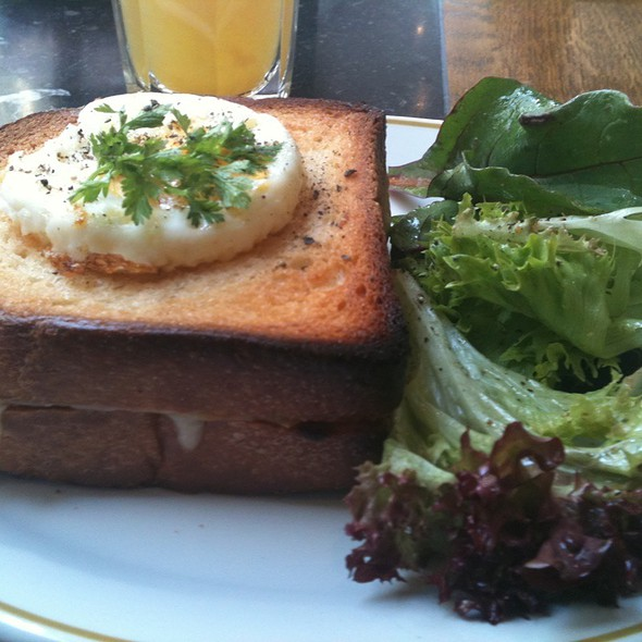 Croque Madame @ French Fantasies