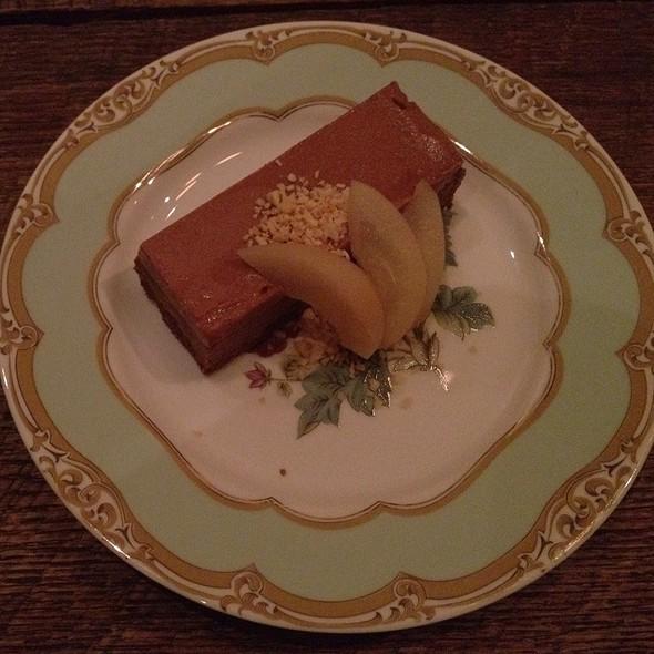 Hazelnut Mousse Cake  @ The Bakery at Cakes & Ale